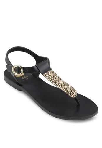 Tille 蛇esprit 童裝紋夾趾涼鞋, 女鞋, 鞋
