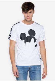 b8ebefa4d9914 Kappa white Street T-shirt. Slim Fit Disney Print Banda Tape On Sleeves  F7147AA297561AGS 1