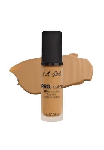 L.A Girl brown LA Girl Pro Matte Foundation Light Tan 66B03BE8E8874DGS_1