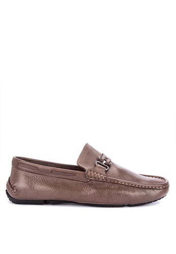 G&G brown Formal Slip On Shoes C7261SHAA1FA1AGS_1