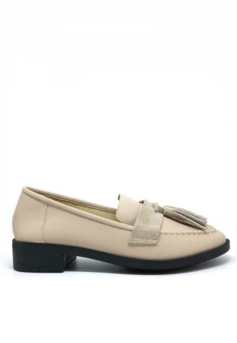 Twenty Eight Shoes beige Tassel Loafers 6090-1 91165SHDB2CCCBGS_1