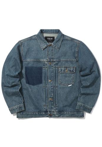 Fivecm blue Basic denim jacket 8355EAAFED4A9BGS_1