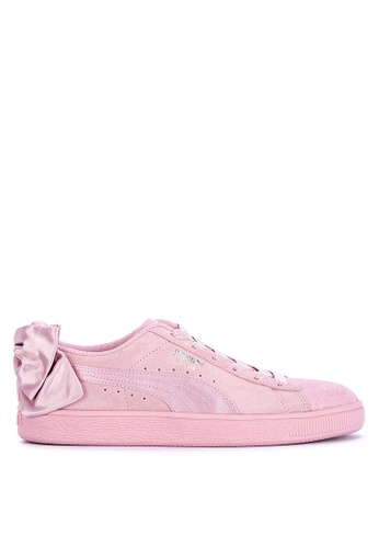 promo code f3052 07813 Suede Bow Galaxy Women's Lifestyle Sneakers