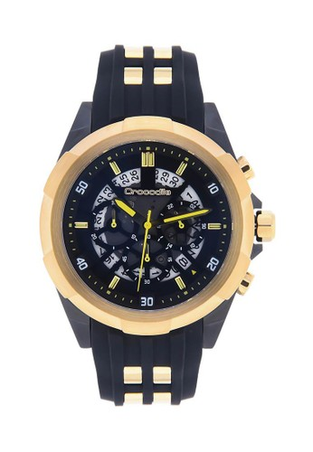 Crocodile Timepiece black Crocodile CM-016C34B Jam Tangan Pria F82CFAC9B4A398GS_1