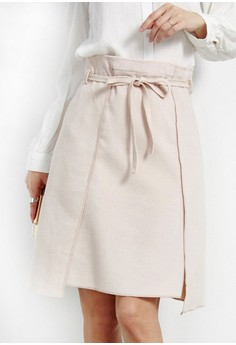 Side Out Wool Skirt