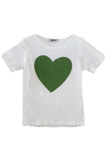 Roses & Rhinos white Heart T-shirt-Unisex E8BC8KAE375D35GS_1