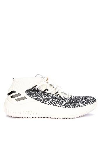adidas white adidas dame 4 2D162SH454D1F3GS_1