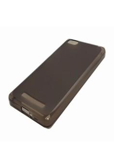 Silicone Clear Case for Xiaomi Mi4i (Smoke)