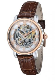 Thomas Earnshaw男裝褐色皮革手錶