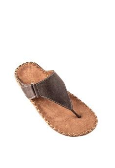 847bfabca Otto brown Velcro Strap Slide Sandals FC4C3SH5B6B7DBGS 1