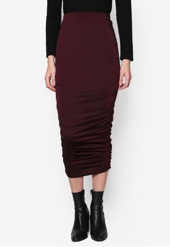 抓皺鉛筆長裙, 服飾esprit 見工, 裙子