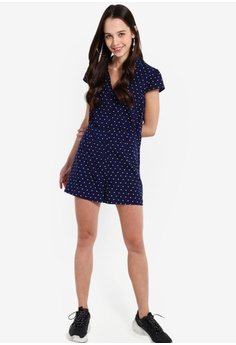 54b99b1a7de3 14% OFF Something Borrowed Buttoned Down Playsuit S  34.90 NOW S  29.90  Sizes XS S M L XL
