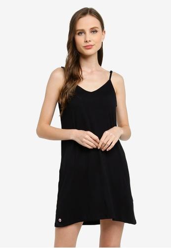 Cotton On Body black Sleep Recovery V Neck Nightie CA4FDAA110F445GS_1