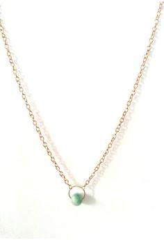 Jade Charm Dainty Necklace