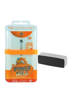 Powerbank 12000mAh With FREE Bluetooth Wireless Speaker