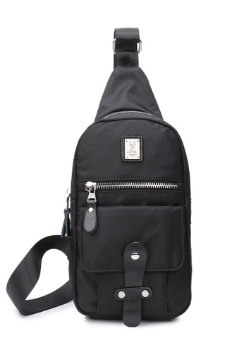 DUSTY black Eng Chest Bag AD2FEACFF89A5FGS_1