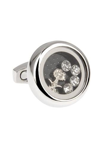 The Little Link Cufflinks silver Angel Quartz Cufflinks TH089AC53RYGSG_1