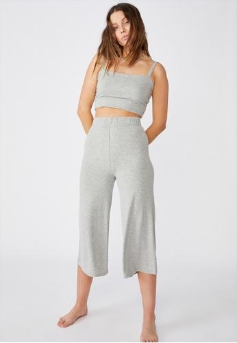 Cotton On grey Piper Knit Rib Pant 38C10AA51CFDDCGS_1