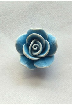 Real Polymer Flower Snap