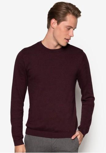 圓領棉質長袖衫, 服飾,esprit outlet尖沙咀 服飾