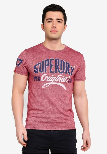 Superdry 紅色 Heritage Classic Tee F7EBEAA8D607DCGS_1