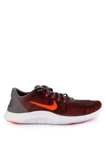Nike black and grey Nike Flex RN 2018 Running Shoes C5C8BSH06C07F0GS_1