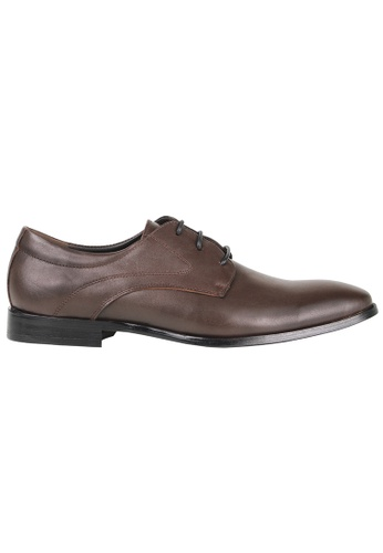 Tomaz brown Tomaz F201 Lace Up Formal (Coffee) C3638SHC520B75GS_1