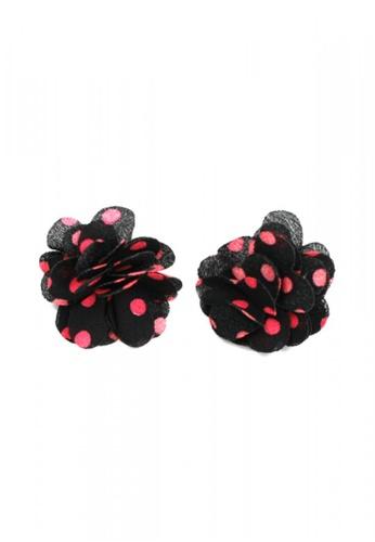 HEY SWEETY multi Sweety Dusty Rose Earrings HE303AC0IZL8PH_1