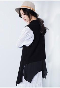 Layer Down Knit Vest