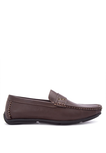H2Ocean brown Gustavo Loafers H2527SH0J08DPH_1