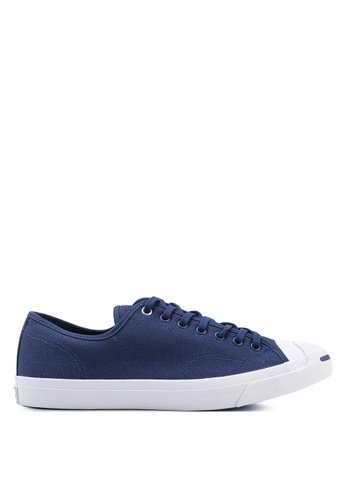 Converse navy Jack Purcell Ox Heavy Canvas Sneakers B342DSH771ECAAGS_1