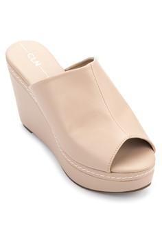 Peeptoe Wedge Sandals