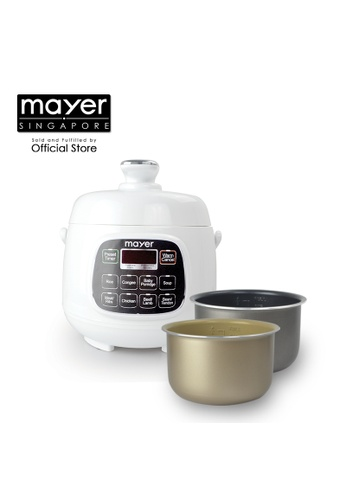 Mayer Mayer 1.6 L Electric Pressure Cooker MMPC1650 558FCHLAD9166BGS_1