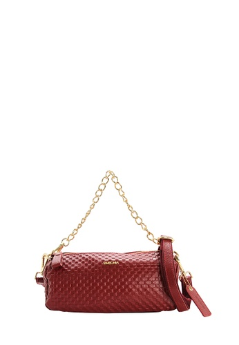SEMBONIA red Genuine Leather Tote Bag (Red) SE598AC0SS2JMY_1