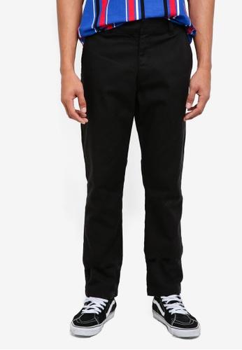 Factorie black Straight Leg Work Pants D9C71AA8D15A00GS_1