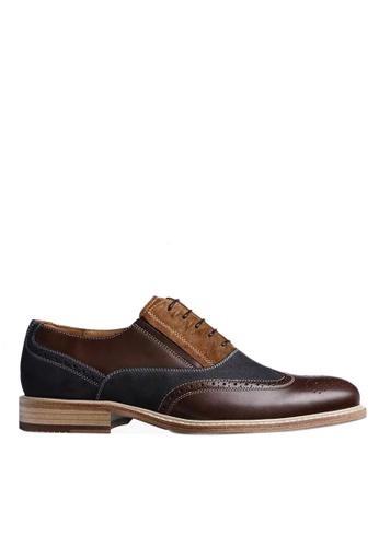 Twenty Eight Shoes British Vintage Leather Suede Oxford DS6852 AF050SH7CFC8D9GS_1