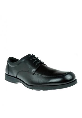 Hush Puppies black Pio Lace Up Mens Dress Shoes 72BCDSHD8329B3GS_1