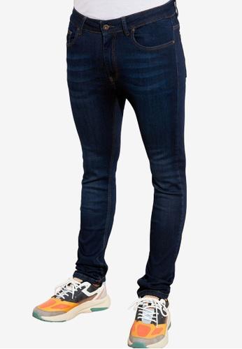 Trendyol navy Super Skinny Fit Jeans BC3D5AA0677BA0GS_1