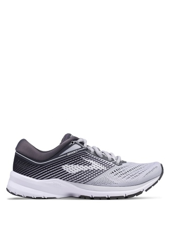c3001050ac4 Brooks grey Launch 5 Shoes 36BE3SH6D7666AGS 1