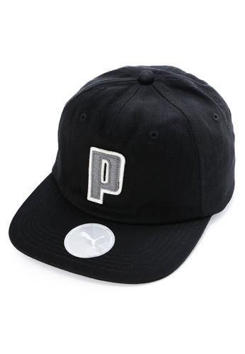 PUMA black P Applique Fb Cap 8B985ACEB3C21CGS_1