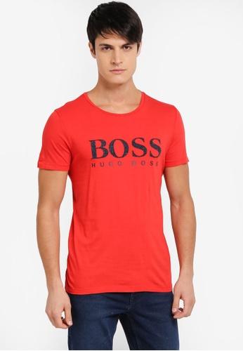 BOSS 紅色 Tew T-Shirt - Boss Casual BO517AA0SRBAMY_1
