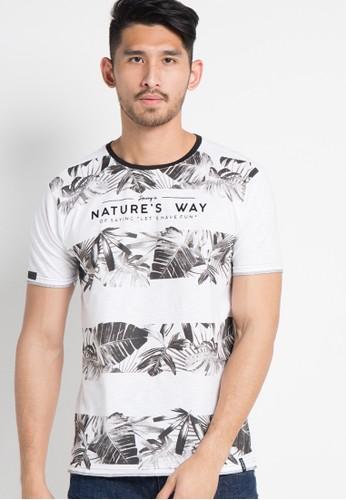 X8 white Kelvin T-Shirt X8323AA19LEMID_1