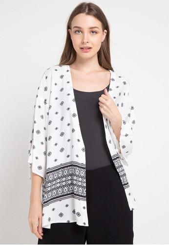 POP U white Bohemian Kimono FEEACAAAB72E08GS_1