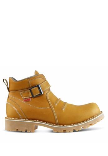 Sogno brown Sepatu Boot Pria GF.7816 B5903SH3435E53GS_1