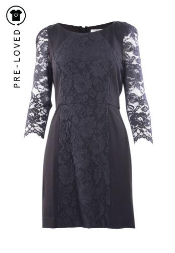Tibi black Pre-Loved tibi Lace Midi Dress 85FD9AA15E12D2GS_1