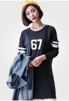 Stripe On 67 Cotton Dress