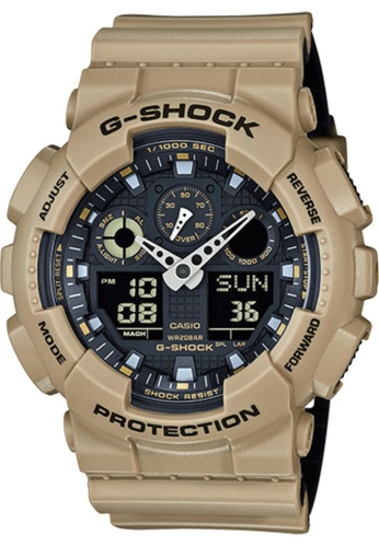 CASIO beige Casio G-Shock Beige Resin Watch 2900EAC83C6CABGS_1