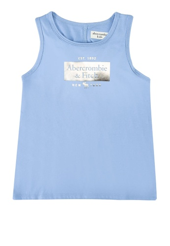Abercrombie & Fitch blue Twist Back Moost Have Tank Top 20316KA75F8EE2GS_1