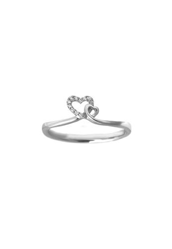GOLDHEART GOLDHEART Ring, Diamond White Gold 750 (R3101) 375A2AC53A6103GS_1