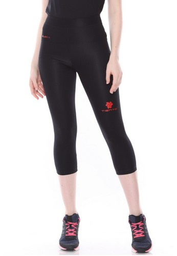 Jual Tiento Tiento Women Compression 3 4 Pants Black Red Celana Legging Leging Lejing Sebetis Wanita Olahraga Yoga Zumba Senam Lari Running Voli Original Zalora Indonesia